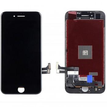 Ekranas iPhone 8/SE 2020 su lietimui jautriu stikliuku juodas Premium