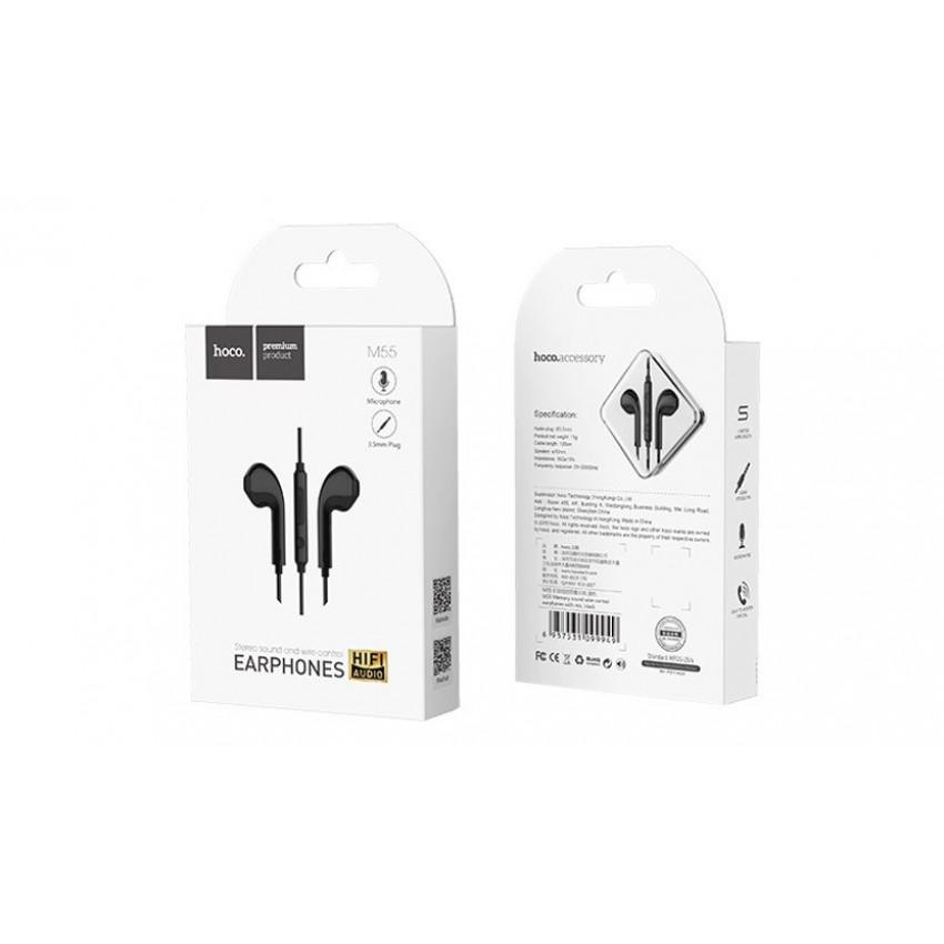 Laisvų rankų įranga HOCO M55 iPhone/iPad 3,5mm juoda