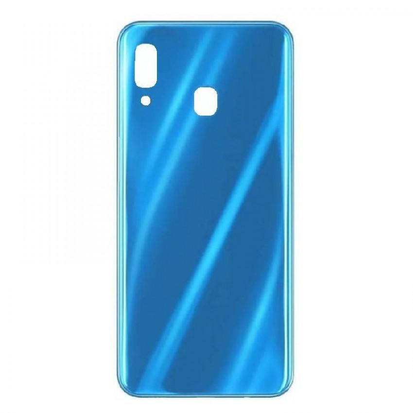 Galinis dangtelis Samsung A305 A30 2019 mėlynas HQ