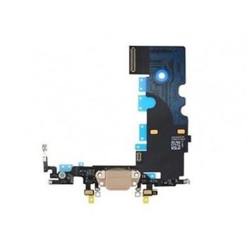 Lanksčioji jungtis Apple iPhone 8/SE 2020 įkrovimo kontaktų, su mikrofonu auksinė ORG