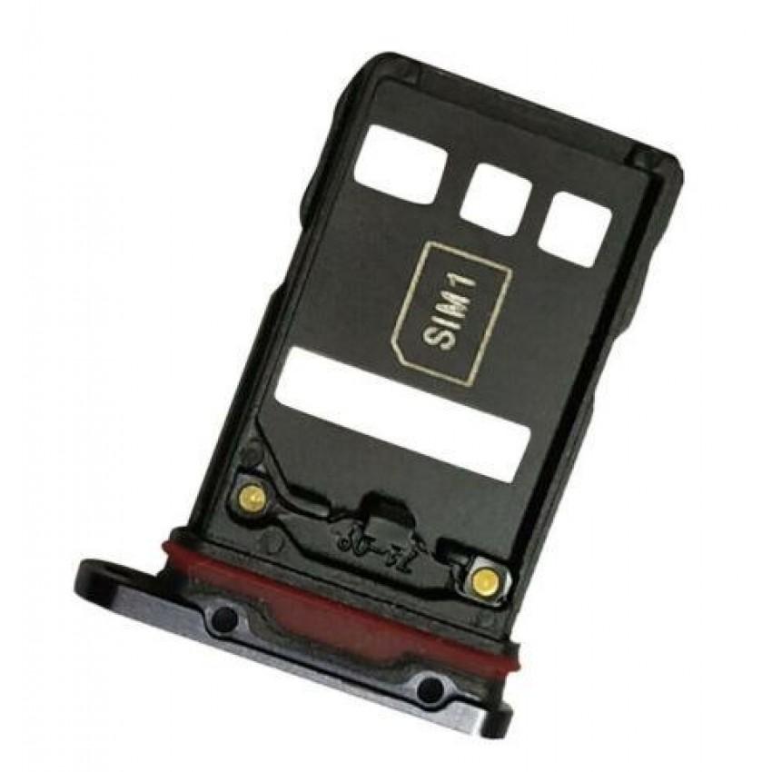 SIM card holder Huawei P30 Pro black ORG