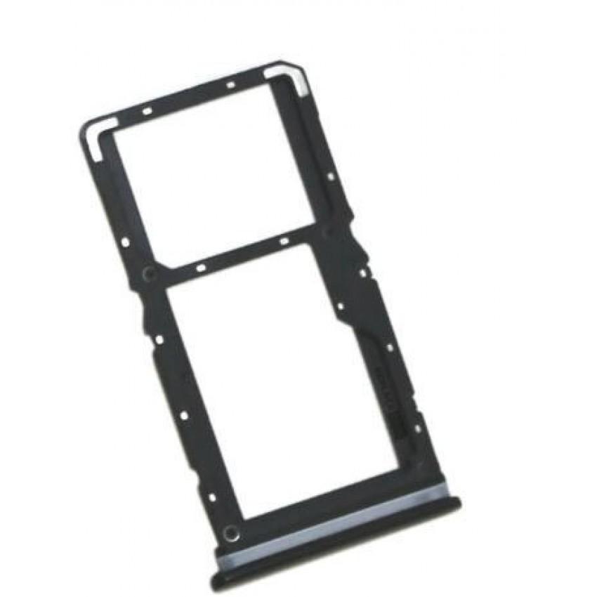 SIM card holder Xiaomi Redmi Note 7 black ORG