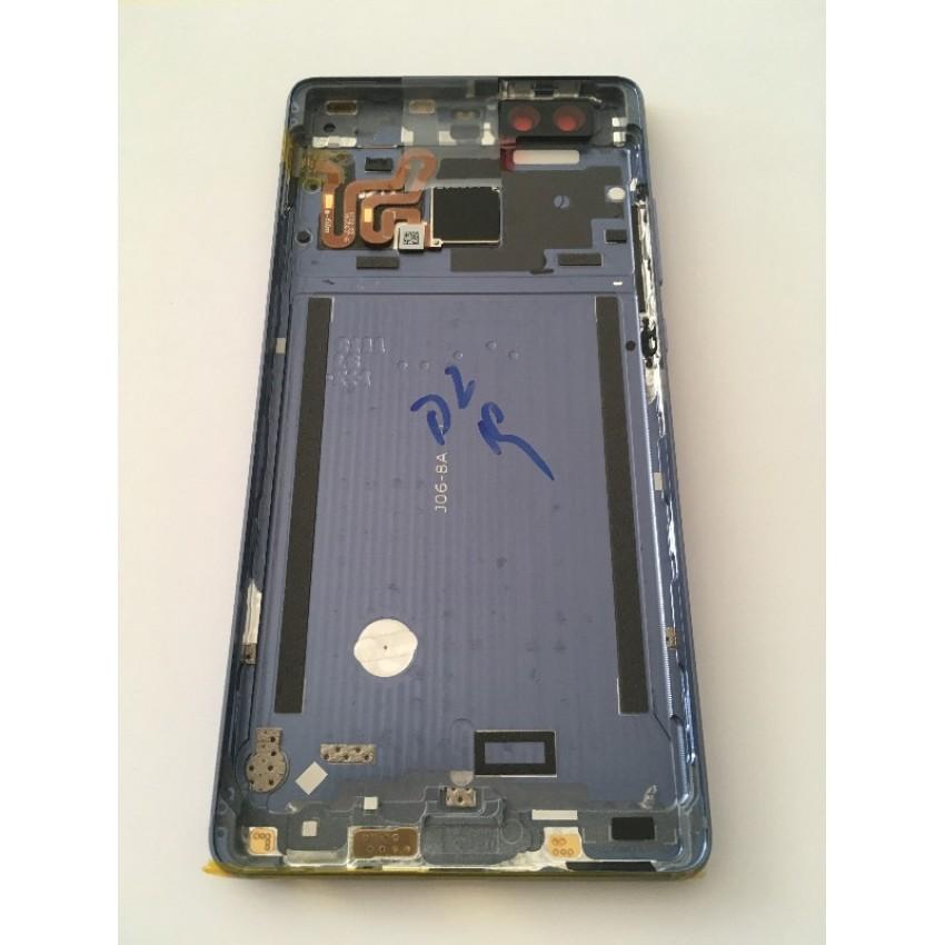 Galinis dangtelis Huawei P9 mėlynas originalus (service pack)