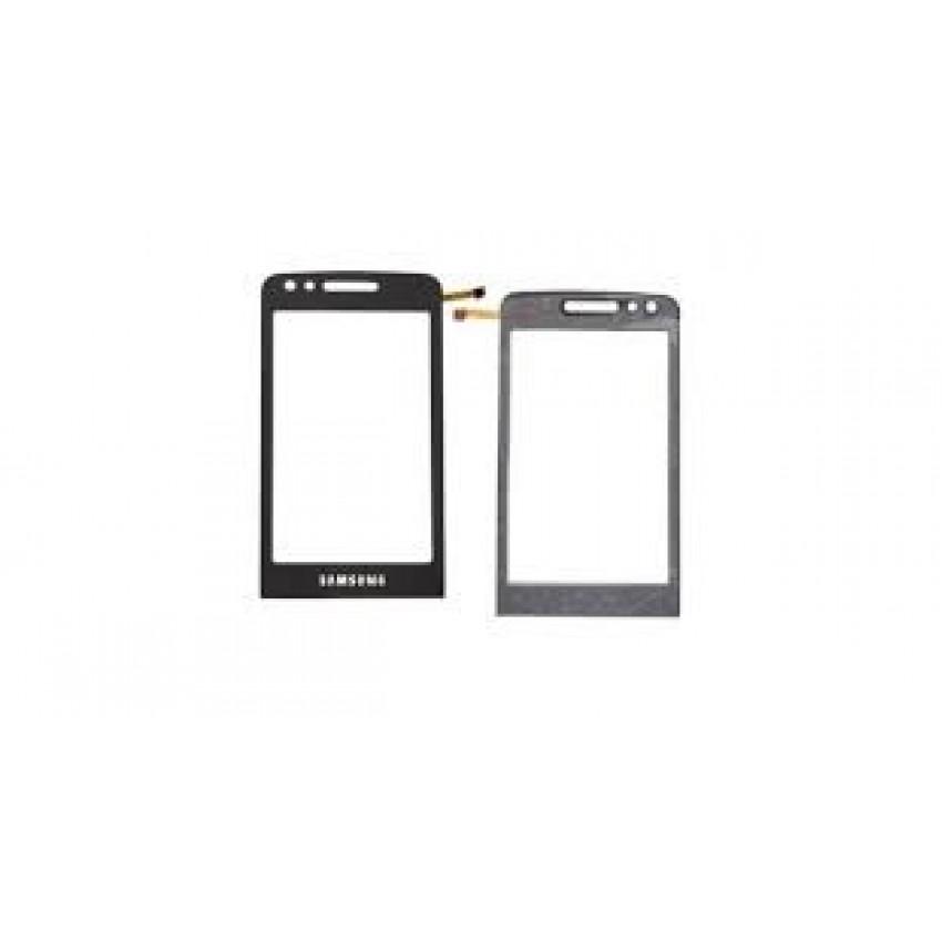 Lietimui jautrus stikliukas Samsung M8800 Pixon juodas HQ