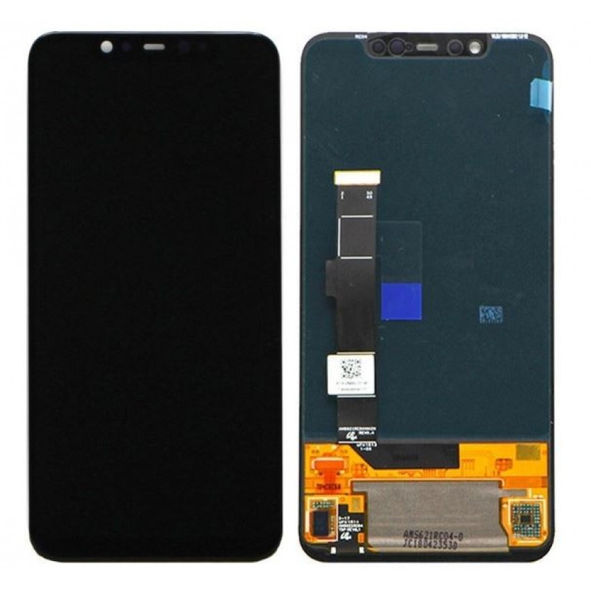 LCD screen Xiaomi Mi 8 with touch screen black OLED HQ