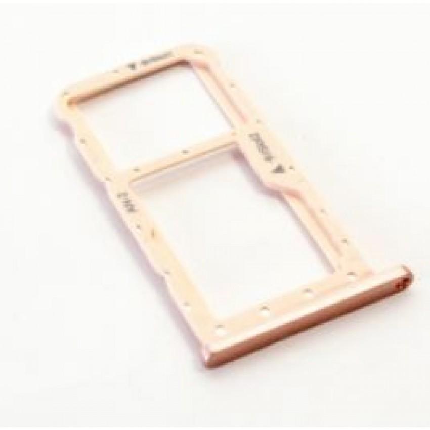 SIM card holder Huawei P20 Lite rose (Sakura Pink) ORG