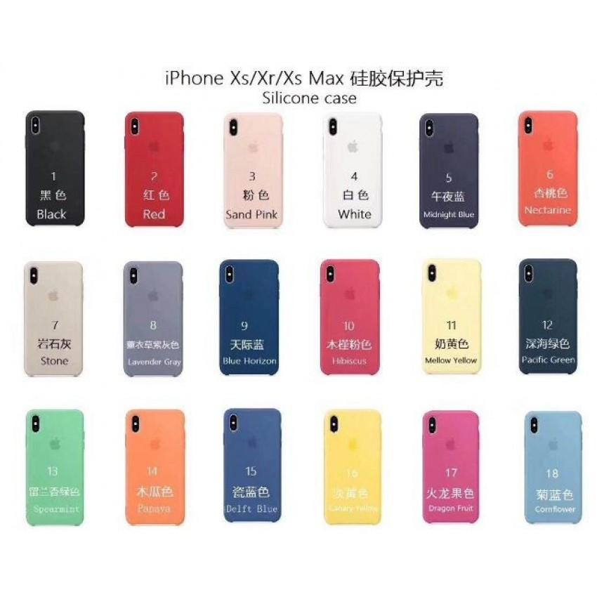 "Dėklai ORG ""Silicone Case"" iPhone XS Max"