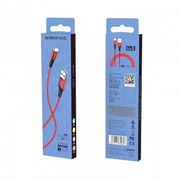USB cable BOROFONE BX20 Enjoy  type-C red 1m