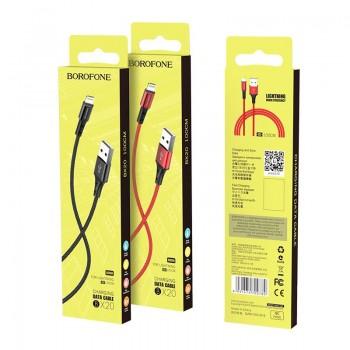 "USB cable BOROFONE BX20 Enjoy ""lightning"" red 1m"
