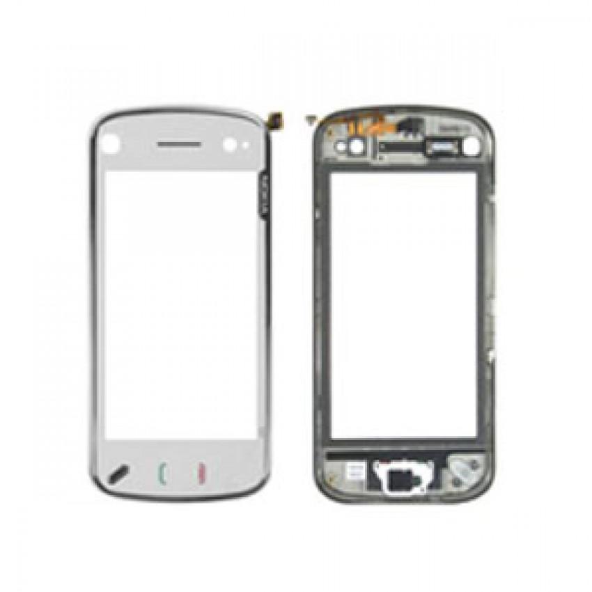 Touch screen Nokia N97 mini white with frame