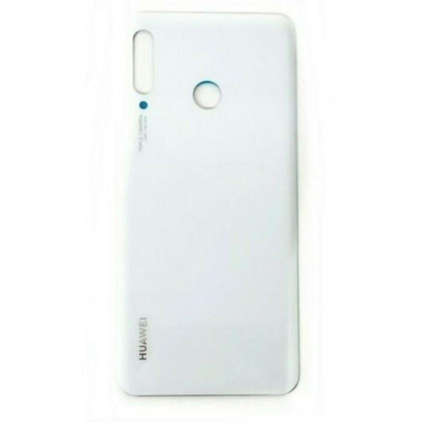 Galinis dangtelis Huawei P30 Lite baltas (Pearl White) 48MP ORG