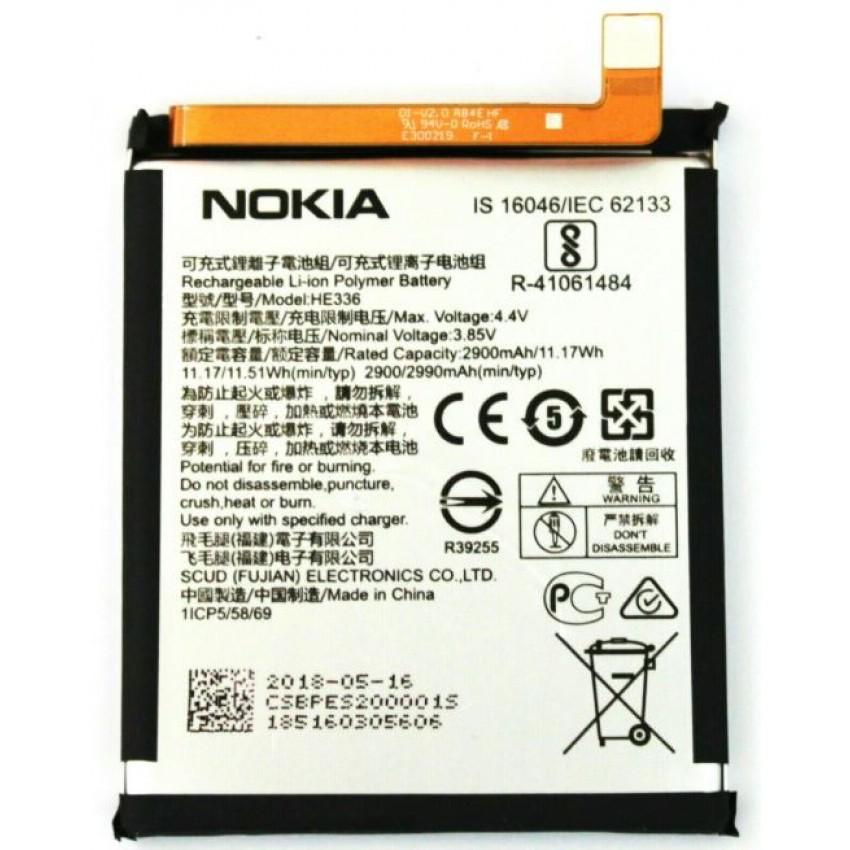Battery ORG Nokia 3.1/5.1 2900mAh TA-1063/1075 HE336