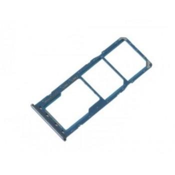 SIM card holder Samsung A205 A20 2019 blue ORG