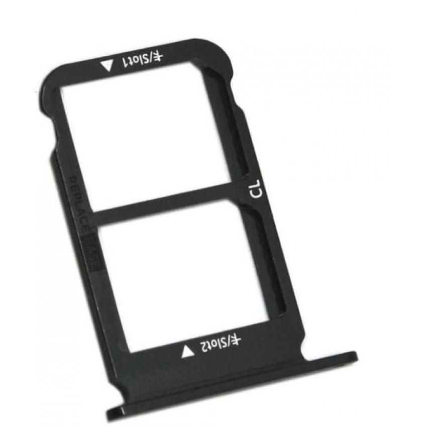 SIM card holder Huawei Honor 10 black ORG