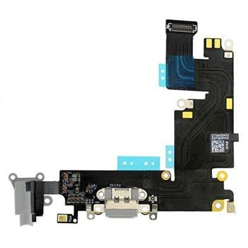 Lanksčioji jungtis Apple iPhone 6 Plus audio ir įkrovimo kontaktų, su mikrofonu pilka ORG