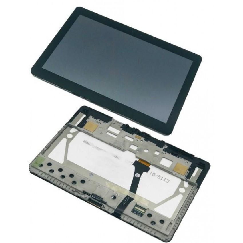 "Ekranas Samsung P5100 Tab 2 10.1"" su lietimui jautriu stikliuku juodas originalus (service pack)"