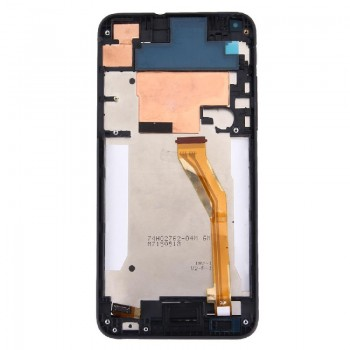 LCD screen HTC Desire 816 with touch screen and frame black original (service pack)