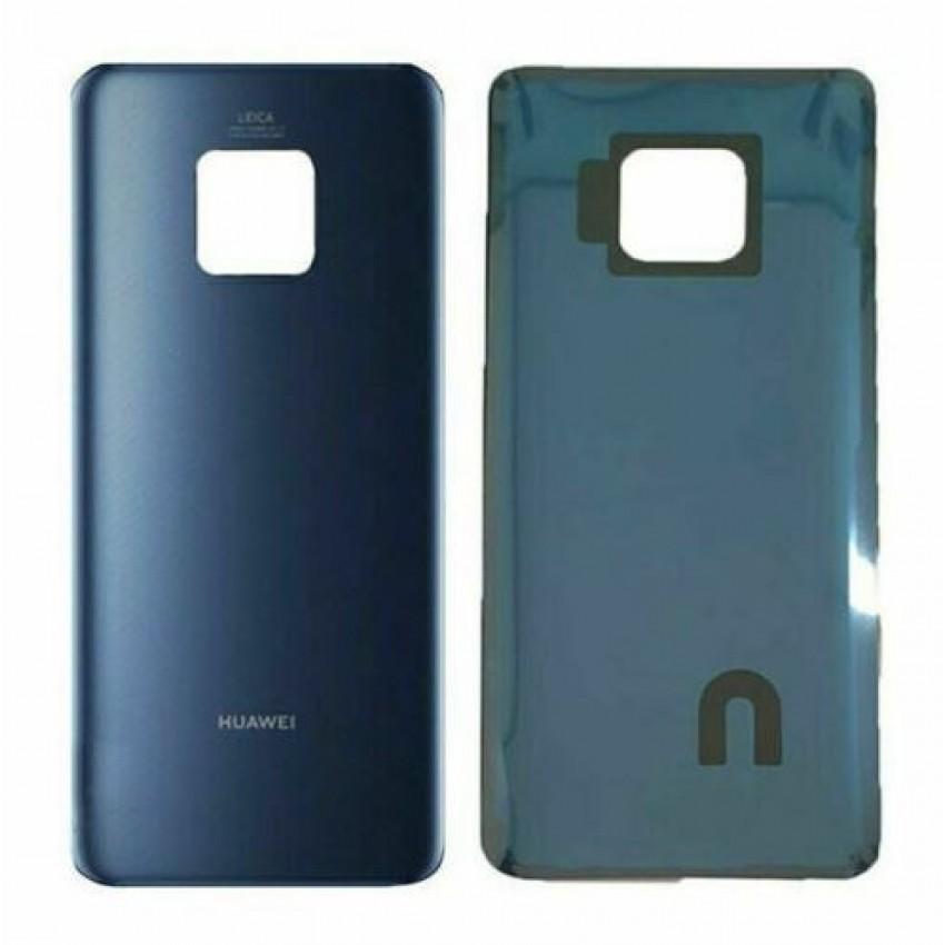 Galinis dangtelis Huawei Mate 20 Pro mėlynas (Midnight Blue) ORG