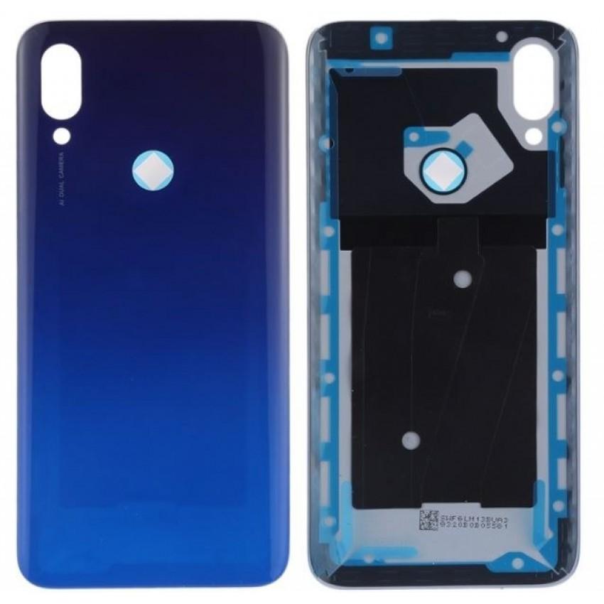 Galinis dangtelis Xiaomi Redmi 7 mėlynas ORG