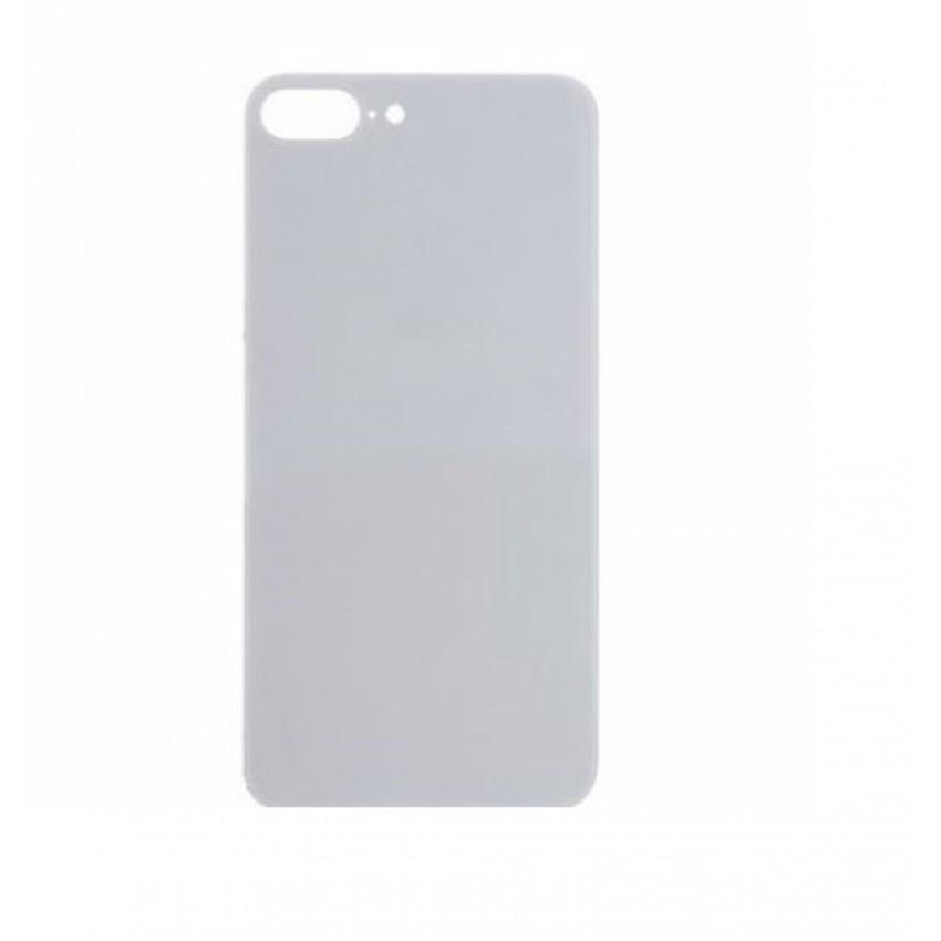 Galinis dangtelis iPhone 8 Plus pilkas (space grey) (bigger hole for camera) HQ