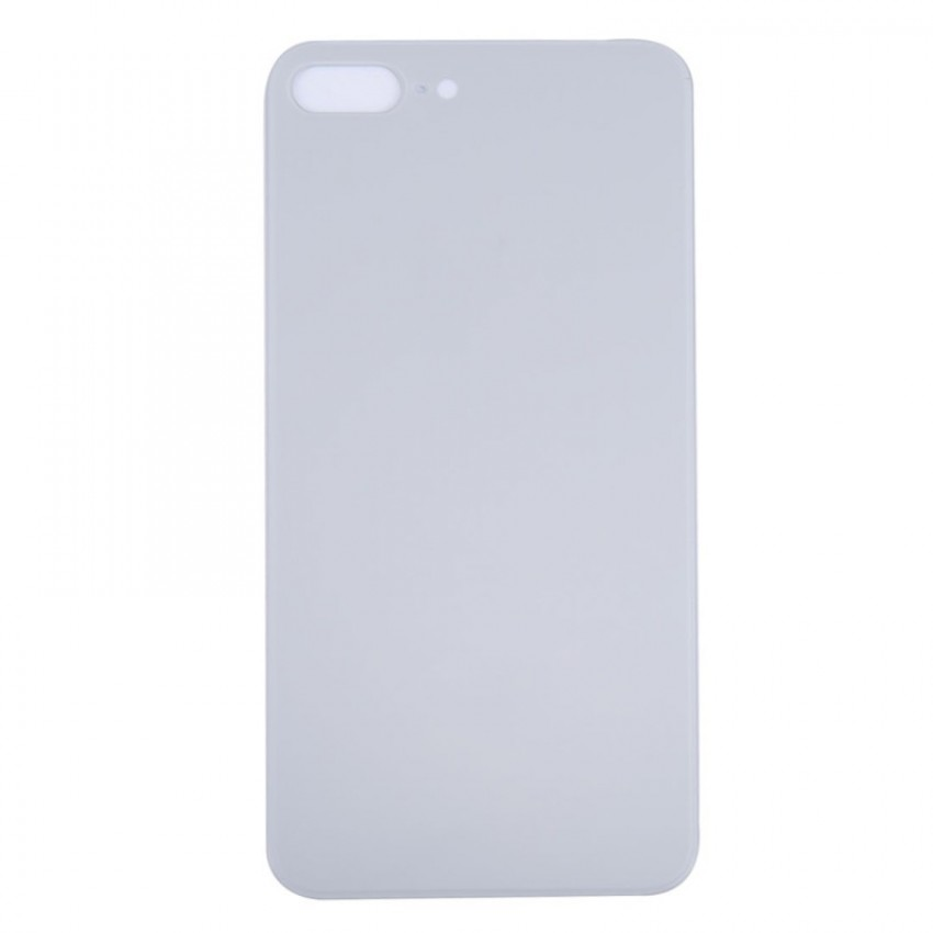 Galinis dangtelis iPhone 8 Plus sidabrinis (bigger hole for camera) HQ