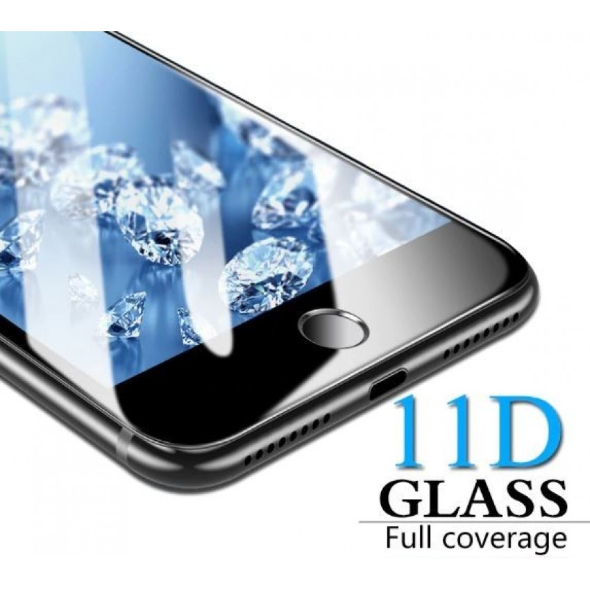"""LCD apsauginis stikliukas """"11D Full Glue"""" Huawei P20 juodas be įpakavimo"""