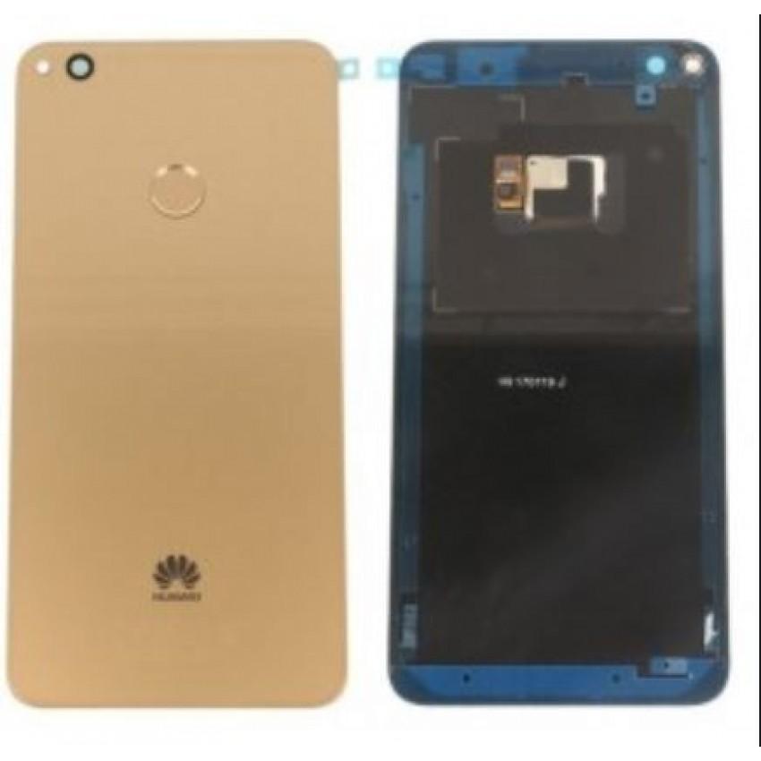 Galinis dangtelis Huawei P8 Lite 2017/P9 Lite 2017/Honor 8 Lite auksinis originalus (used Grade B)