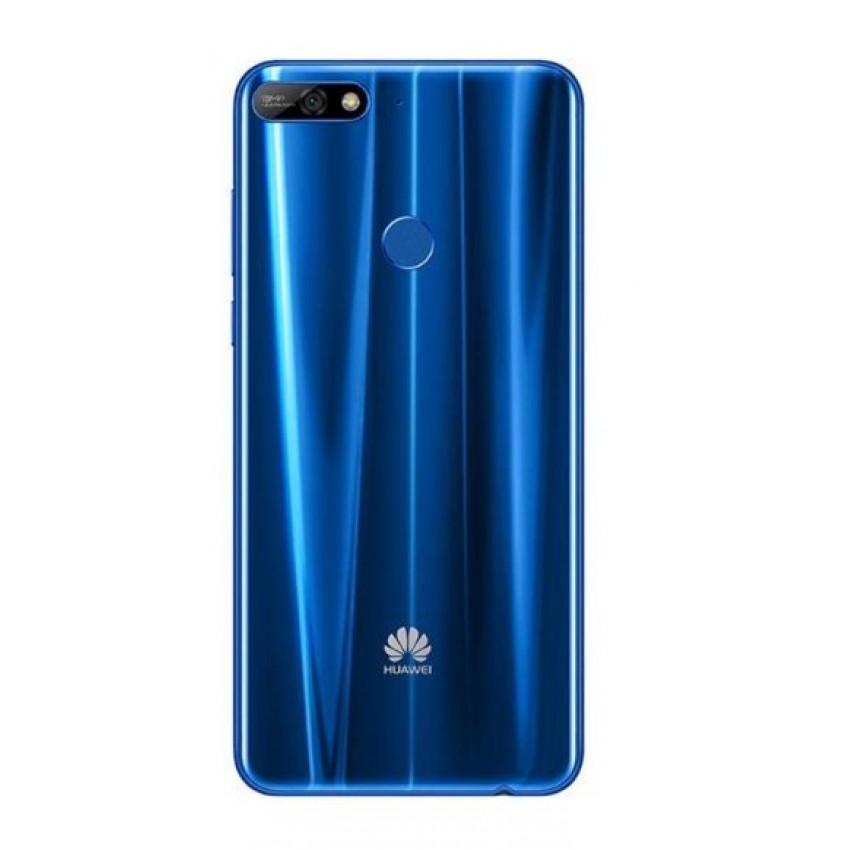 Galinis dangtelis Huawei Y7 2018 mėlynas originalus (used Grade C)