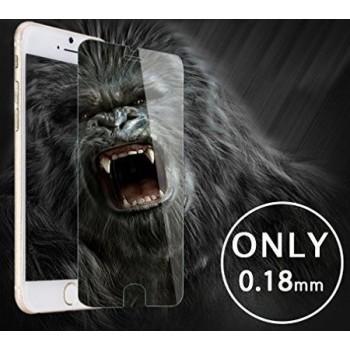 """LCD apsauginis stikliukas """"Gorilla 0.18mm"""" Apple iPhone 6 Plus/6S Plus juodas be įpakavimo"""