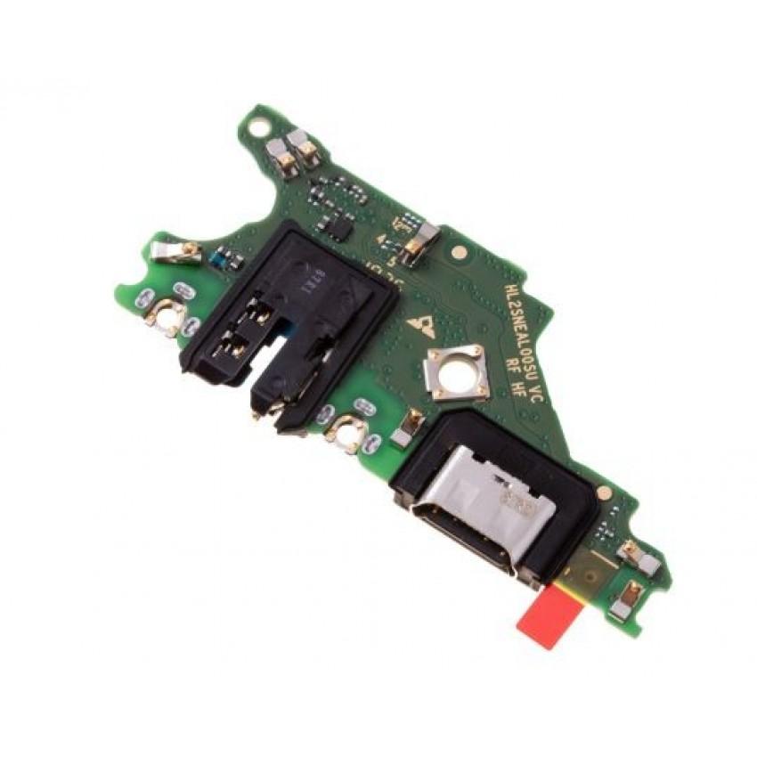 Lanksčioji jungtis Huawei Mate 20 Lite įkrovimo kontakto su mikrofonu ORG