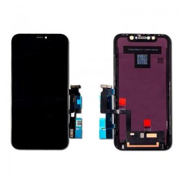 Ekranas iPhone XR su lietimui jautriu stikliuku Premium HQ
