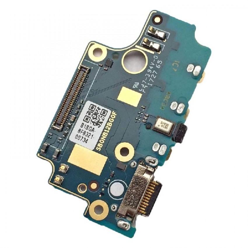 Lanksčioji jungtis Nokia 8 įkrovimo kontakto su mikrofonu ORG