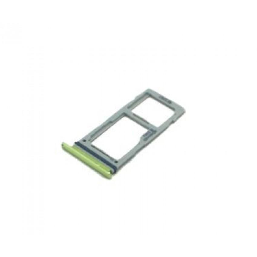 SIM card holder Samsung S10e/S10/S10+ DUAL Canary Yellow ORG