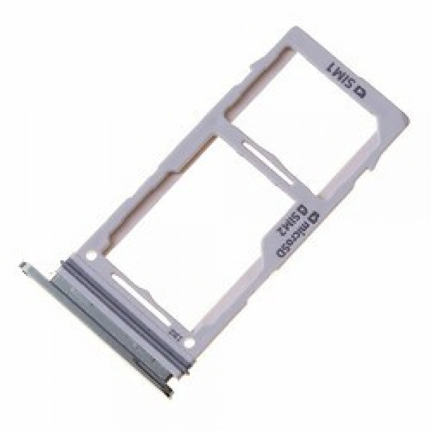 SIM card holder Samsung S10e/S10/S10+ DUAL Prism White ORG