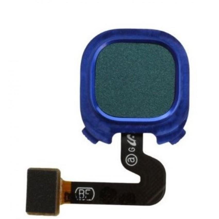 Lanksčioji jungtis Samsung A920 A9 2018 su mėlynu pirštų atspaudų jutikliu (fingerprint) originali