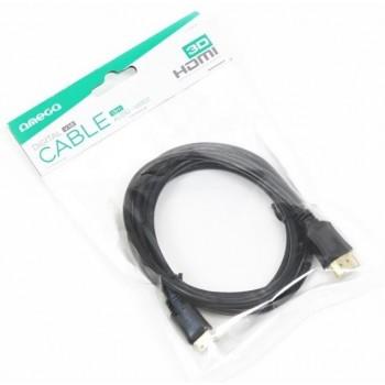 OMEGA HDMI-miniHDMI cabel (v.1.4 4K) 1,8M black