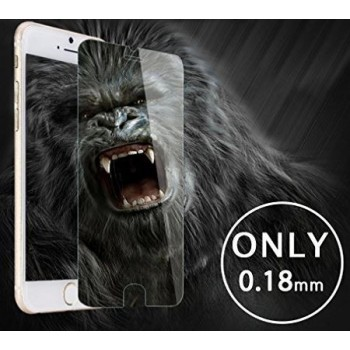 "Screen protection glass ""Gorilla 0.18mm"" Apple iPhone 7/8 black bulk"