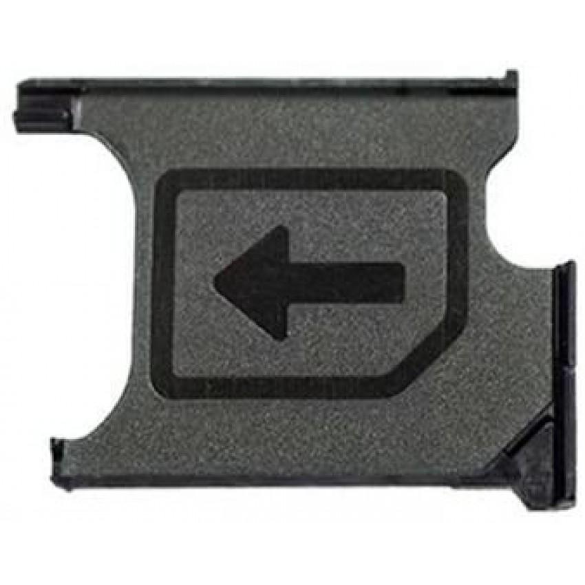 SIM kortelės laikiklis Sony L39h/C6903/Xperia Z1/D5503 Z1 Compact ORG