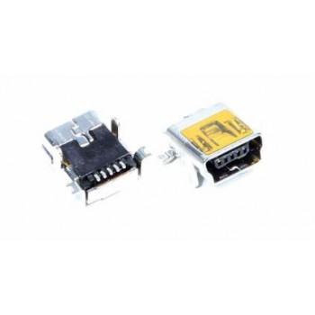Įkrovimo kontaktas universalus Mini USB (5pin, long)