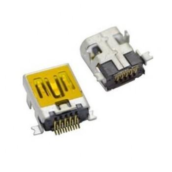 Įkrovimo kontaktas universalus Mini USB (10pin, long)