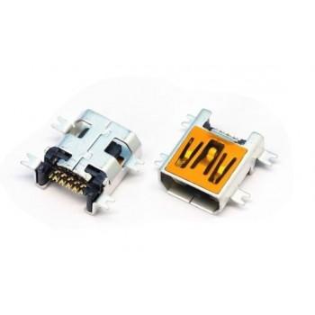 Įkrovimo kontaktas universalus Mini USB (10pin, short)
