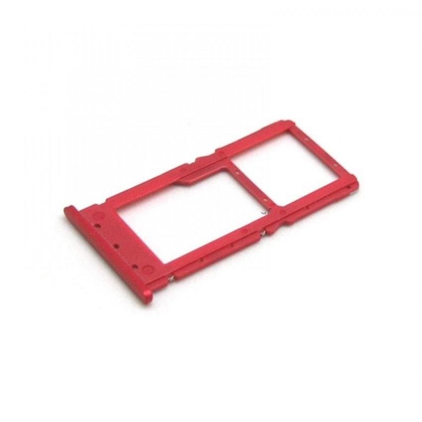 SIM card holder Xiaomi Redmi Note 6 Pro red ORG