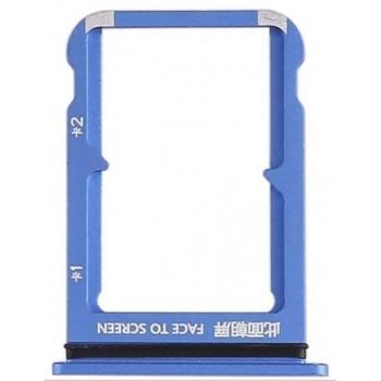 SIM card holder Xiaomi Mi 9 SE blue ORG