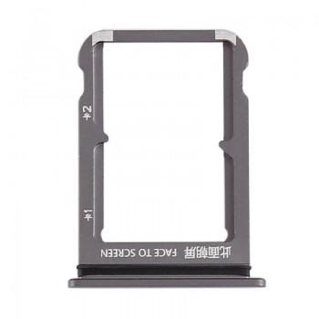 SIM card holder Xiaomi Mi 9 black ORG
