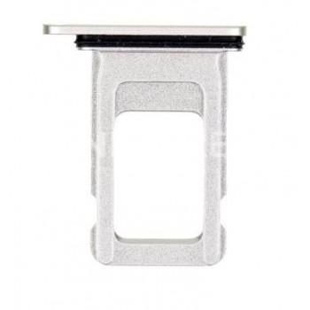 SIM kortelės laikiklis Apple iPhone 11 baltas ORG