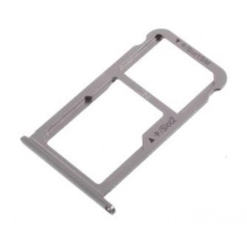 SIM card holder Huawei Nova grey original (service pack)