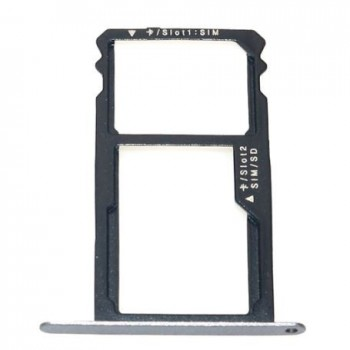 SIM card holder Huawei Honor 7 grey original (service pack)