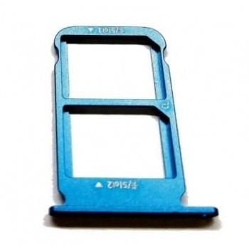 SIM card holder Huawei Honor 10 green (blue) original (service pack)
