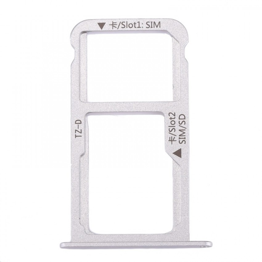 SIM card holder Huawei Mate 9 (Single) grey original (service pack)