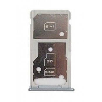 SIM card holder Huawei Honor 5C/Honor 7 Lite silver original (service pack)